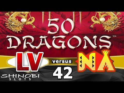 Las Vegas vs Native American Casinos Episode 42: 50 Dragons Slot Machine