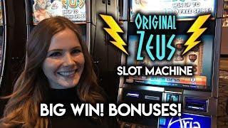 ZEUS Original Slot! BIG WIN! BONUSES! BIG LINE HIT!!!