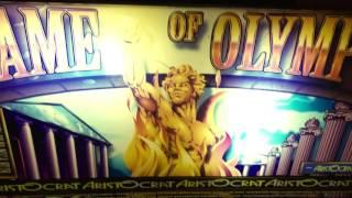2 BIG WIN SLOT LINE HITS *Flame of Olympus & Roll Up Roll Up* ARISTOCRAT!