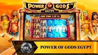Power of Gods Egypt slot by Wazdan