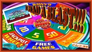 It's ALL ABOUT THE WHEEL!!! •Super Wheel Blast • Slot Machine Bonus ~ Aristocrat•