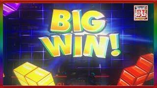 ** BIG WIN ON NEW TETRIS GAME ** SLOT LOVER **