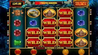 Goddess of the amazon online slot, 8 freee spins, big feature!