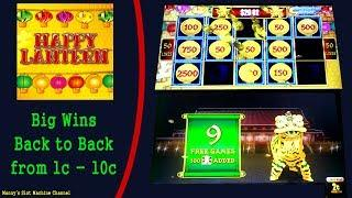 LIGHTNING LINK-  HAPPY LANTERN SLOT MACHINE- LIVE PLAY AND  BIG WIN!