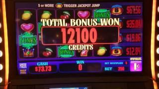 •Jackpot Inferno Slot Machine•JACKPOTS WIN• MAX BET BONUSES!!!!
