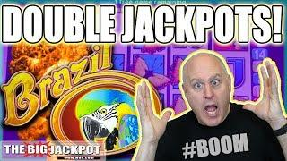 2 Brazil Bonus Jackpots! • BIG WIN$ | The Big Jackpot