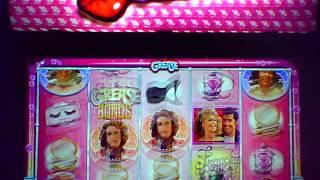 Grease Pink Ladies casino slot machine game MAX BET WITH BONUS and BIG WIN