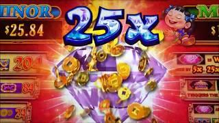 •NEW ! 88 Fortunes DIAMOND 3 Reel Slot•Beautiful Multipliers ! $125 Free Play Live @ San Manuel•彡栗