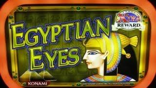 Egyptian Eyes Konami Slot Machine Bonus