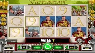 Free Victorious Slot by NetEnt Video Preview | HEX