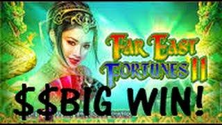 Big Win! Far East Fortunes - WMS Slot Machine Bonus