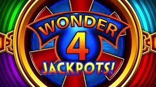 BIG WIN - Buffalo Wonder 4 Jackpots Slot Machine Bonus - 3 Multipliers