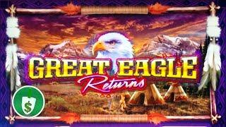 Great Eagle Returns slot machine, Bonus, What happened to the 95% sign