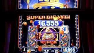WMS - Princess Sakura!  Massive Win!  Over 600x!  Free Spins Bonus!