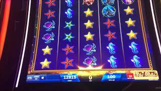 BIG WIN - Ocean Magic Grand Slot Machine Bonus & Line Hits