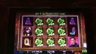 $$ FREEPLAY HANDPAY JACKPOT $$ at $400/pull at the Bellagio Las Vegas