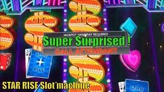 •WTF ? JACKPOT!! HAND PAY $$$•STAR RISE (IGT) Slot machine •Wonder 4 Wheel Free Play Live play too•彡