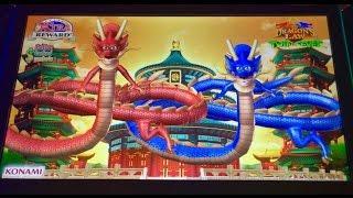 Dragon's Law Twin Fever slot- Max bet bonus!
