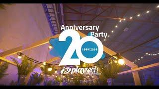 Playtech 20th Anniversary Party held in Estonia.