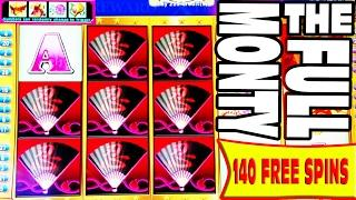 THE FULL MONTY •  ALL 140 FREE SPINS BONUS  • MISSED OPPORTUNITIES