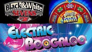 Pechanga • Black & White Sevens Quick Hit Super Wheel ❼➆ Electric Boogaloo•• The Slot Cats •