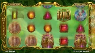 Goldwyns Fairies Slot Features & Game Play - by Microgaming