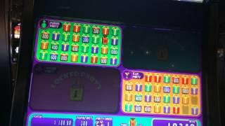 Jackpot Block Party Slot Machine Bonus - Big Win!