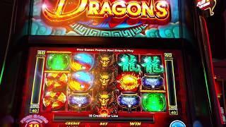 DAMN NICE Sheldon PAYS ME BIG to visit his Casino Ainsworth Pokie Slot Action Dragons