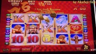 JACKPOT• LUCKY 88 Real Revenge Handpay•2c Denom Slot Machine Bet$6, San Manuel Casino, Akafujislot