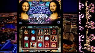 Double Davinci Diamonds High Limit Slot Play - Just for Fun!