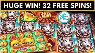 •UNBELIEVABLE WIN!• BONUSES IN BONUS! • 32 SPINS OF AMAZINGNESS! MIGHTY CASH SLOT MACHINE HUGE WIN!