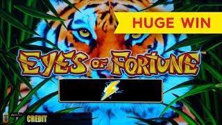 Lightning Link Eyes Of Fortune Slot - SHORT & VERY SWEET - HUGE WIN!