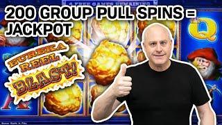 ⋆ Slots ⋆⋆ Slots ⋆⋆ Slots ⋆ 200 Group Pull Spins = JACKPOT! ⋆ Slots ⋆ Lock It Link: Eureka Reel Blast at Hard Rock Casino