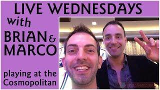 • Live Play with Marco • Live Gambling at Cosmopolitan • Las Vegas Slot Pokies