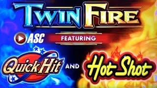 *FIRST-SPIN QUICK HIT WIN!* TWIN FIRE (SG) | MAX BET! LIVE PLAY & BONUS! Slot Machine Bonus