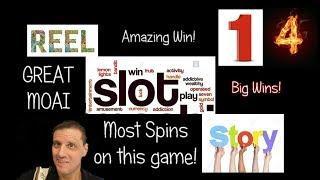 Slot Story 14: Huge Great Moai Win!
