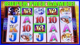 AWESOME RUN! SUPER FREE GAMES   WONDER 4 BUFFALO GOLD SLOT MACHINE
