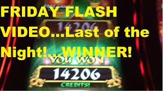 Friday Flash Video - Last of the Night! For tonight..a Winner