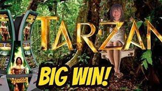 BIG WIN SWINGING WITH TARZAN
