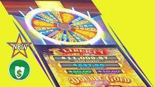 •️ New - Double Gold Riches Liberty Link slot machine, bonus