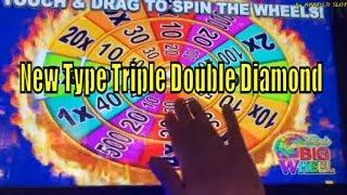 New Type Triple Double Diamond with Free Games•Bonus Times [カリフォルニア カジノ] [赤富士] [アカフジ スロット] Pechanga