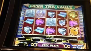 Open the Vault Slot Machine Bonus - Free Spins