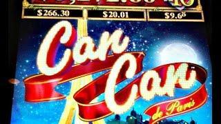 Aristocrat -  Can Can de Paris : Line Hit on a $3.00 / Max Bet  Eps:1
