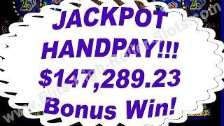 •JACKPOT HANDPAY!!! $147,289 23 Bonus Win! High Stakes $100 Slot Machine Vegas High Stakes Gambling