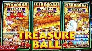 Treasure Ball Linked Progressive from Konami