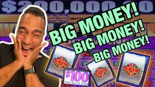 ⋆ Slots ⋆ $100 Wheel of Fortune SPIN, SPIN, SPIN!!! | High Limit Mighty Cash XTRA Reel!! ⋆ Slots ⋆