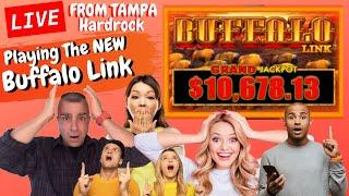 ⋆ Slots ⋆LIVE! Buffalo Link From Tampa Hard-rock