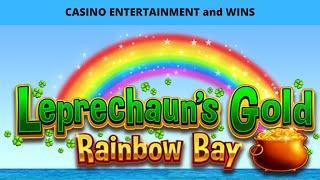 •LEPRECHAUNS GOLD RAINBOW BAY! CASINO WIN•