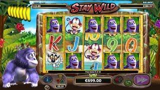 Gorilla Go Wild Slot - Stay Wild Bonus - Wild Line! - Nextgen