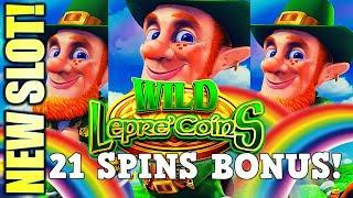 ⋆ Slots ⋆NEW SLOT! FINALLY GOT THE BONUS!⋆ Slots ⋆ WILD LEPRE'COINS GOLD RESERVE Slot Machine (Arist